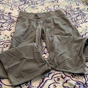 Grey lulu pants